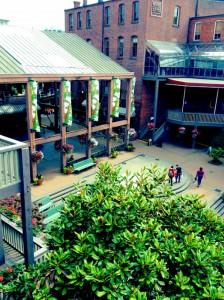 market square courtyard