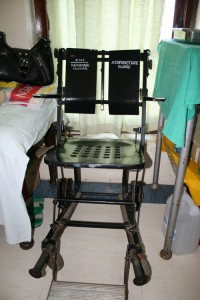 wheelchair at mnazi mmoja hospital
