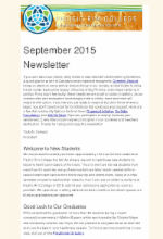 Sept 15 newsletter