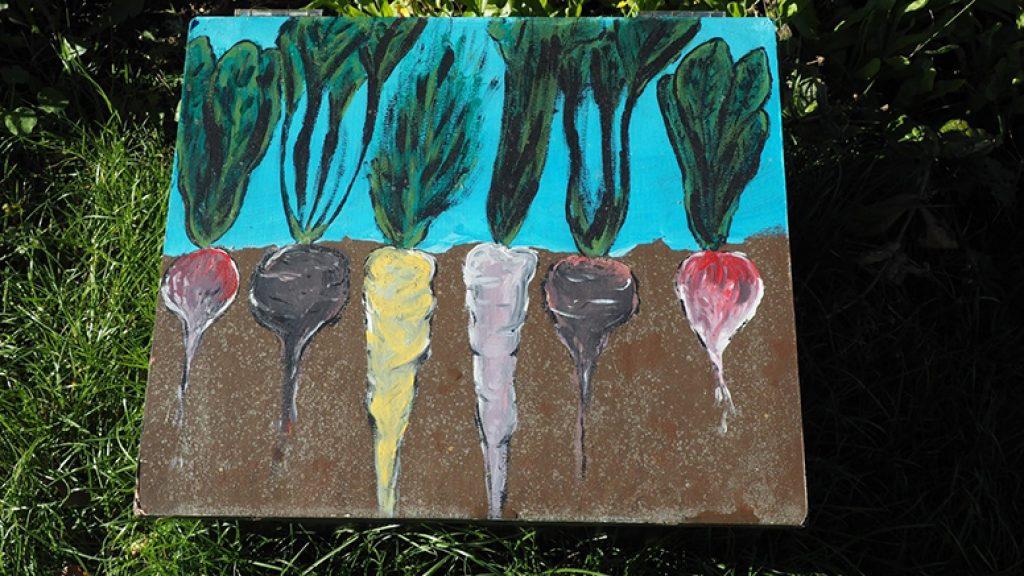 art on an irrigation